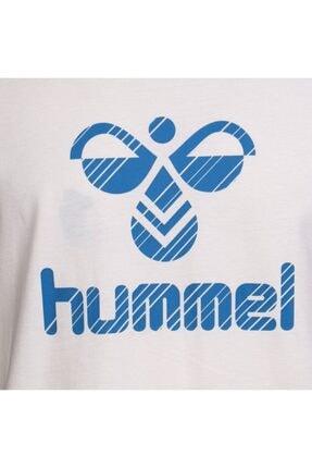 HUMMEL Rob Kısa Kollu Beyaz Tişört 3