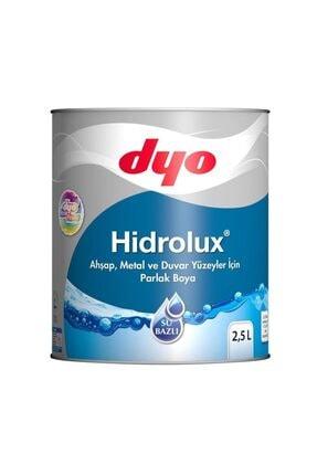 Dyo Hidrolüx 2,5 Litre Beyaz Su Bazlı Ahşap Metal Boyası 0