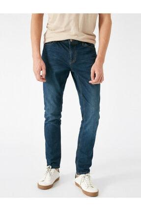 Koton Erkek Petrol Jeans 1KAM43203MD700 2