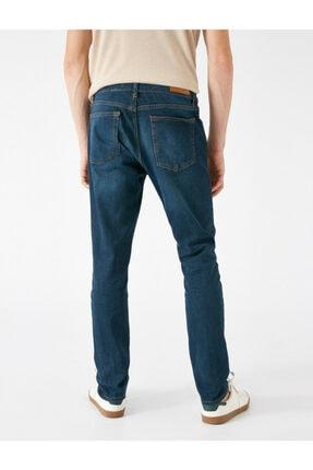 Koton Erkek Petrol Jeans 1KAM43203MD700 3