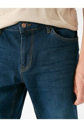 Koton Erkek Petrol Jeans 1KAM43203MD700 4