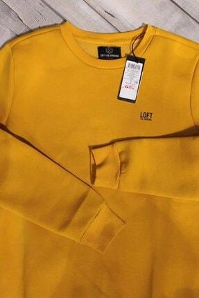 Loft Erkek Sarı Regular Fit Sweatshirt Lf2023029 1