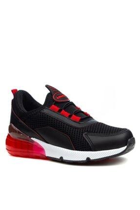 Papuçcity Lafonten Siyah-kırmızı Erkek Çocuk Spor Ayakkabı 0