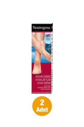 Neutrogena Norveç Formülü Nasırlaşmış Ayaklar İçin Ayak Kremi 50 ml x2 0