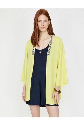 Koton Kadın Sarı Kimono&Kaftan 1