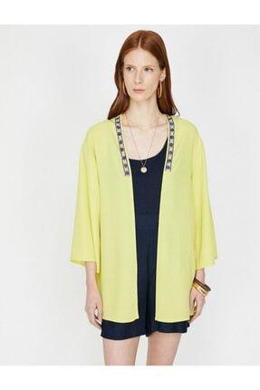 Koton Kadın Sarı Kimono&Kaftan 2