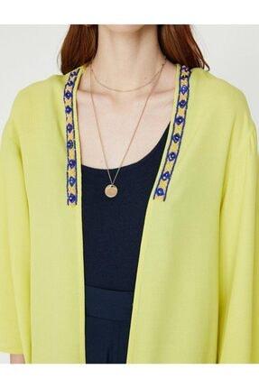 Koton Kadın Sarı Kimono&Kaftan 4
