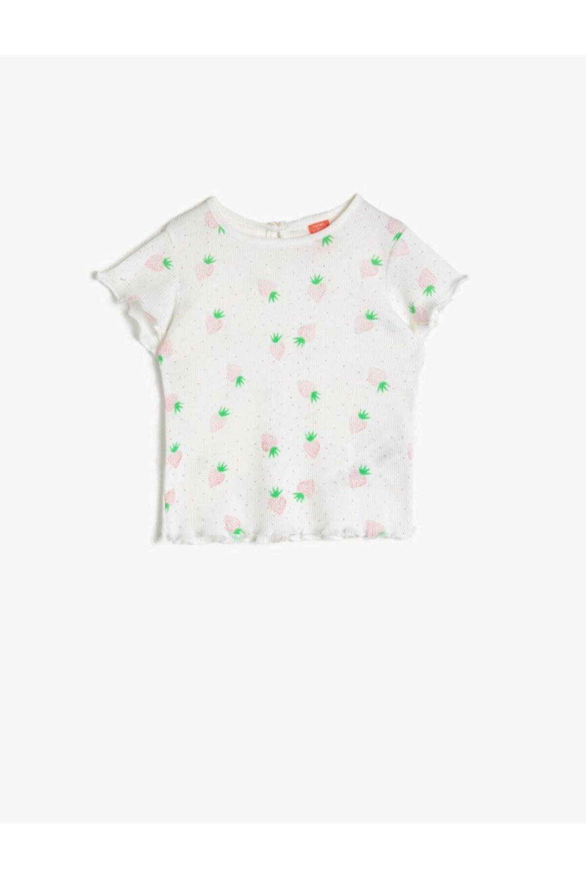 Sarı Kız Bebek T-Shirt