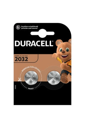 Duracell Cr2032/dl2032 3v Düğme Pil 1adet 0