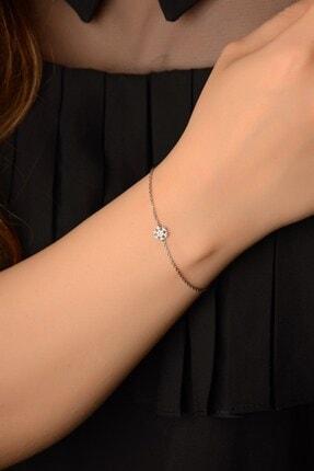 İn Dubai Silver Kadın Gümüş Kar Tanesi Bileklik Dbsk4082 0