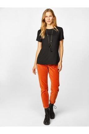Faik Sönmez Kadın Yuvarlak Yaka Kısa Kol T-shirt 1