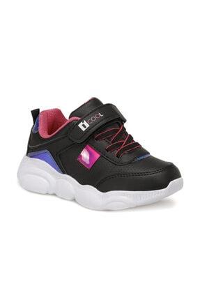 Icool MOSHI Siyah Kız Çocuk Yürüyüş Ayakkabısı 100564516 0