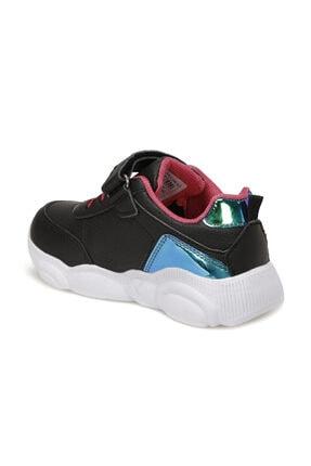 Icool MOSHI Siyah Kız Çocuk Yürüyüş Ayakkabısı 100564516 2