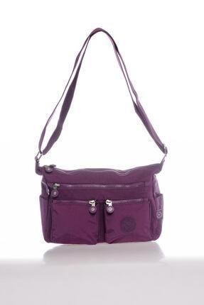 Smart Bags Kadın Mor Postacı Çantası 0