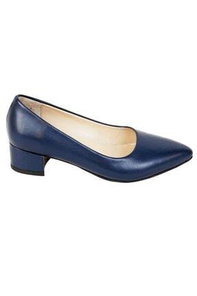 Ustalar Ayakkabı Çanta Lacivert Kadın Hakiki Deri Stiletto 364.2770 1