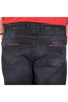 Modexl Büyük Beden Erkek Pantolon Kot 20904 Blue Black 3