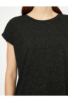 Koton Kadın Siyah Tshirt 0yak13582yk 3