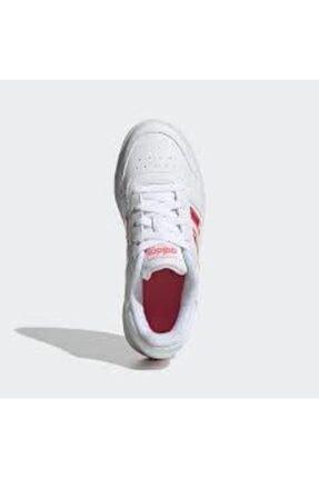 adidas Hoops 2.0 Spor Ayakkabı - Fw7616 4