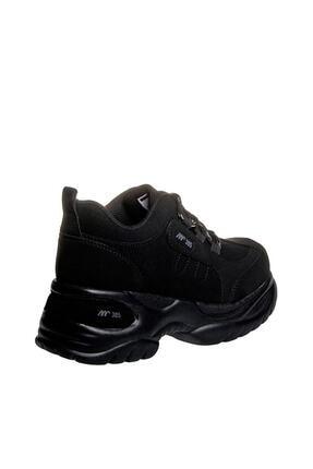 MP Kadın Dolgu Topuk Siyah Casual Ayakkabı 192-305zn 100 2