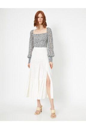 Koton Skirtly Yours Styled By Melis Agazat Firfir Detayli Etek 1