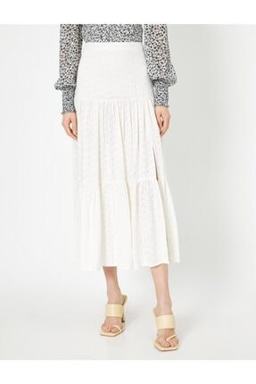 Koton Skirtly Yours Styled By Melis Agazat Firfir Detayli Etek 2