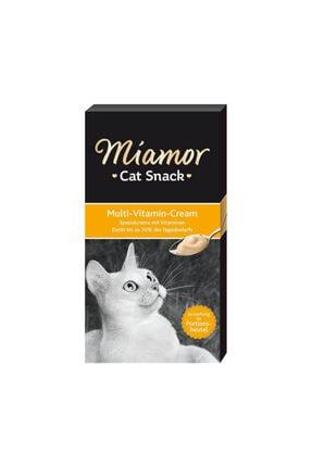 Miamor Cream Kedi Multi Vitamini Ödül Maması 6x15g 0