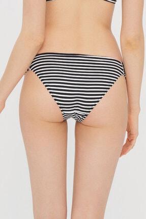 Penti Siyah Beyaz Çizgili Lora Hipkini Bikini Altı 3