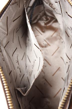 Pierre Cardin Altın 4P Desen Omuz Çantası 05PO20Y1418 4