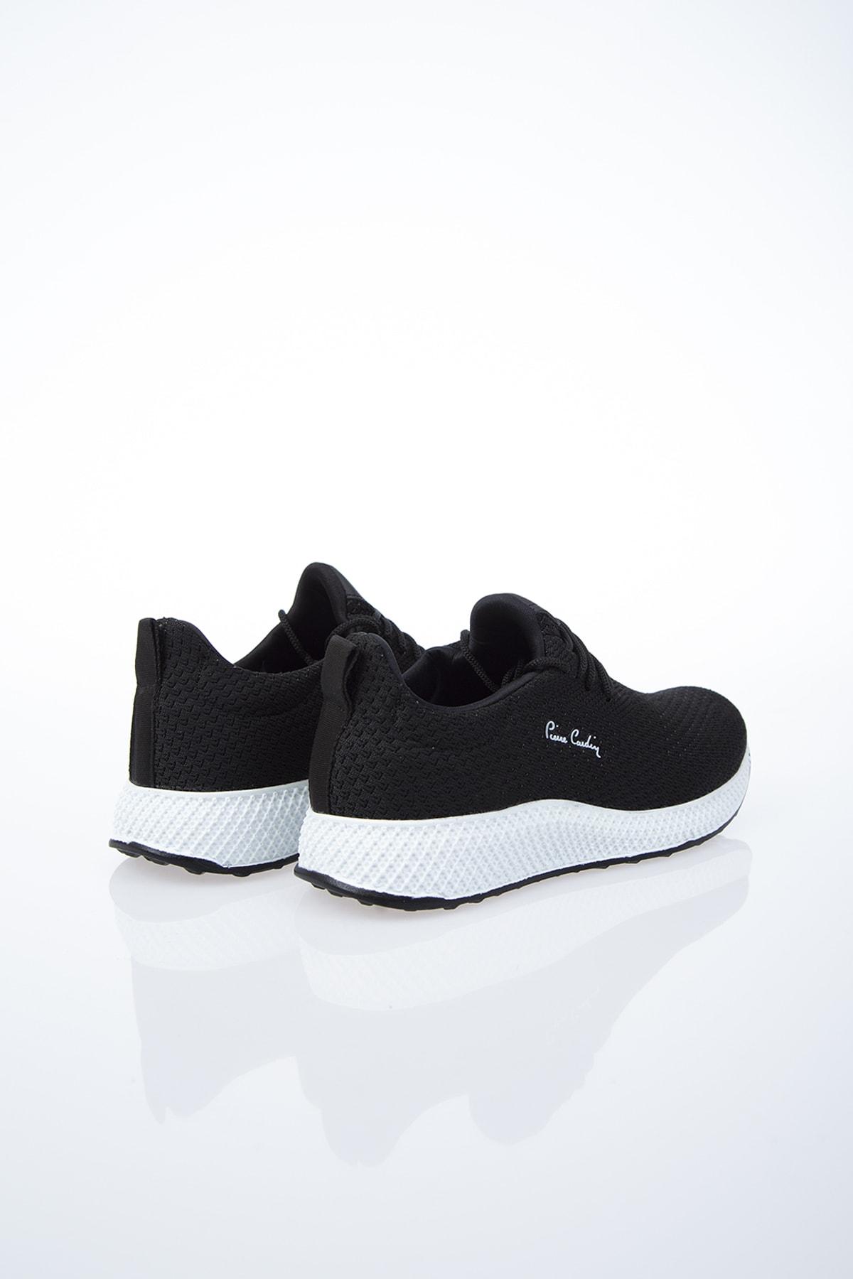 Pierre Cardin Kadın Günlük Spor Ayakkabı-Siyah-Beyaz PCS-10248