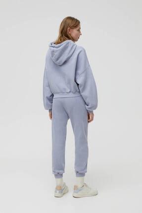 Pull & Bear Gri Hawaii Sweatshirt 2