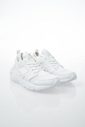 Pierre Cardin Kadın Günlük Spor Ayakkabı-Beyaz PCS-10276 2