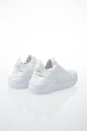 Pierre Cardin Kadın Günlük Spor Ayakkabı-Beyaz PCS-10276 3