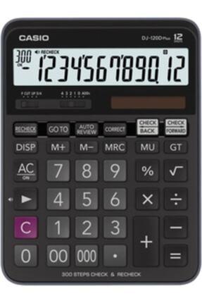 Casio Dj-120d Plus Işlem Kontrollü 12 Hane Masa Üstü Hesap Makinesi 0