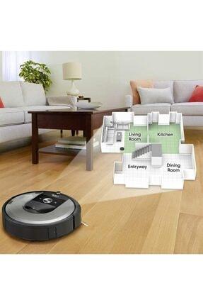 iRobot Roomba I7 Açık Gri Robot Süpürge Outlet - Distribütör Garantili 2