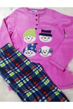 Haluk Bayram Ba Ha Polar Pijama Takımı Nar Çiçeği 1