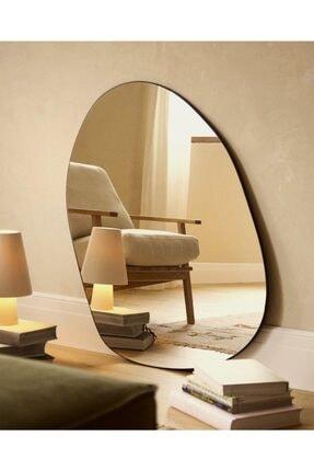 LYN HOME & DECOR Büyük Boy Asimetrik Dekoratif Ayna 0
