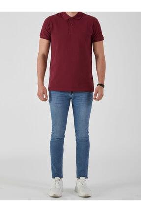 Ltb Erkek  Bordo Polo Yaka T-Shirt 012208450860890000 2