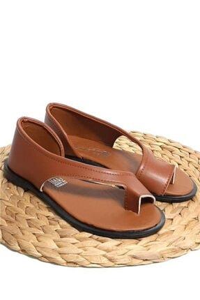 Moda Frato Pwr-33 Parmak Arası Kadın Ayakkabı Sandalet 3