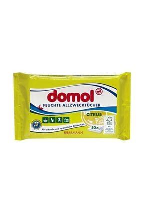 Domol 2 X Islak Temizleme Bezi Narenciye Limon Ve Elma Kokulu Genel Temizlik Bezi 1