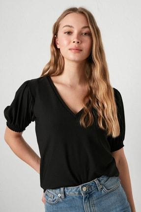 LC Waikiki Kadın Yeni Siyah Formal Bluz 1
