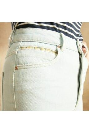 Yargıcı Kadın Straight Mom Fit Denim Pantolon 4