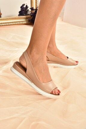 Fox Shoes Kadın Ten Rengi Sandalet K674300609 1