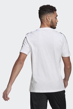 adidas T-shirt Erkek T-shirt Whıte/black Gl3733 1