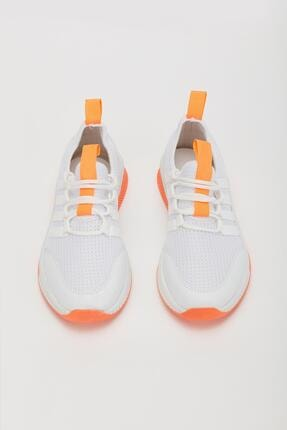 Muggo Unisex Turuncu Sneaker Ayakkabı Mgforce01 2