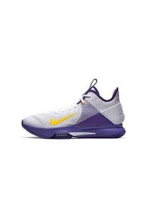 Nike Lebron Witness 4 Voltage Purple Erkek Ayakkabı Bv7427-100 3