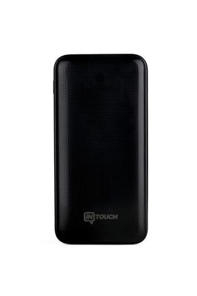 İntouch Basic 20.000 Mah. 2 Çıkışlı Taşınabilir Sarj Cihazı Powerbank Siyah 1
