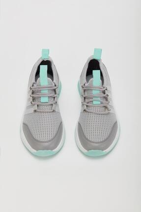 Muggo Unisex Gri Sneaker Ayakkabı Mgforce01 2