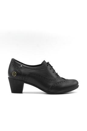 Mammamia Kadın Siyah Günlük Deri Ayakkabı 3220b 0