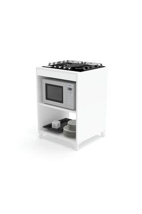Kenzlife Mutfak Modül Mini Fırın Ankastre Ocak Dolabı Figen Byz 85*60*57 1