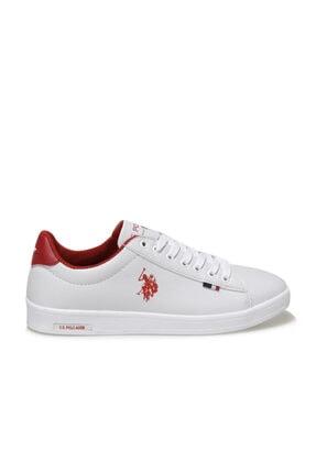 US Polo Assn FRANCO WMN 1FX Beyaz Kadın Sneaker Ayakkabı 100910290 1